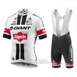 2016 Jersey Giant Alpecin White And Red