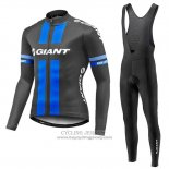 2016 Jersey Giant Long Sleeve Black And Blue