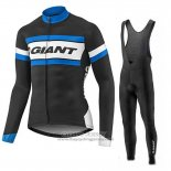 2017 Jersey Giant Long Sleeve Blue And Black