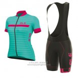 2017 Jersey Women ALE Excel Riviera Light Blue And Pink