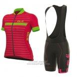 2017 Jersey Women ALE Excel Riviera Red And Green