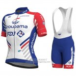 2018 Jersey Groupama FDJ PRS White and Blue