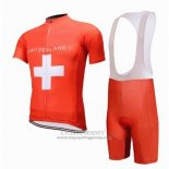2018 Jersey Switzerland Red