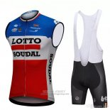 2018 Wind Vest Lotto Soudal Blue and Red
