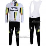 2011 Jersey HTC Highroad Long Sleeve White
