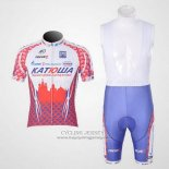 2011 Jersey Katusha White And Red