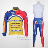 2011 Jersey Subaru Long Sleeve Sky Blue And Yellow