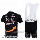 2012 Jersey Bianchi Black And Orange