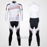 2012 Jersey NorthWave Long Sleeve Black And White