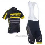 2013 Jersey Livestrong Black And Yellow
