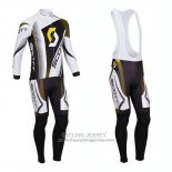 2013 Jersey Scott Long Sleeve White And Black