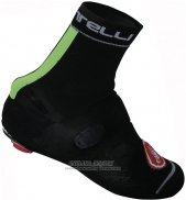 2014 Castelli Shoes Cover Black And Green