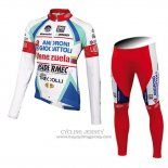 2014 Jersey Androni Giocattoli Long Sleeve White
