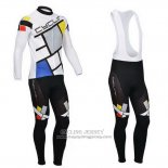 2014 Jersey Fox CyclingBox Long Sleeve Light White