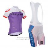 2014 Jersey Fox CyclingBox White And Purple