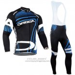 2014 Jersey Orbea Long Sleeve Black And Blue