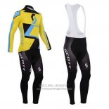 2014 Jersey Scott Long Sleeve Yellow And Black