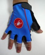 2015 Castelli Gloves Corti Blue And Black