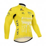 2015 Jersey Tour de France Long Sleeve Yellow