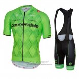 2016 Jersey Cannondale Black And Green