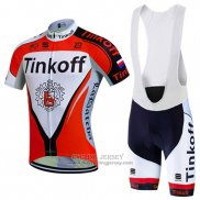 2016 Jersey Tinkoff Red And White
