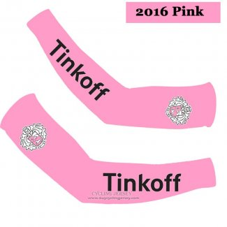 2016 Saxo Bank Tinkoff Arm Warmer Pink