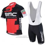 2017 Jersey BMC Red And Black