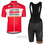 2017 Jersey Lotto Soudal Red