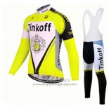 2017 Jersey Tinkoff Long Sleeve Yellow