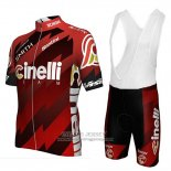 2018 Jersey Cinelli Chrome Dark and Red