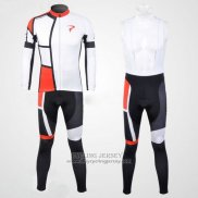 2012 Jersey Pinarello Long Sleeve Red And White