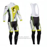 2013 Jersey Scott Long Sleeve White And Yellow