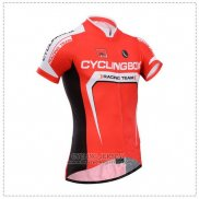2014 Jersey Fox CyclingBox Red And White