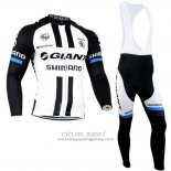 2014 Jersey Giant Shimano Long Sleeve Black And White