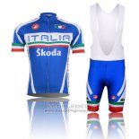 2014 Jersey Italy Blue And Red