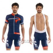 2015 Jersey Pinarello Red And Blue
