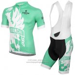 2016 Jersey Bianchi Green And White