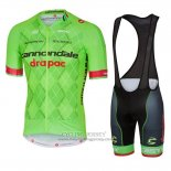 2016 Jersey Cannondale Drapac Green And Black
