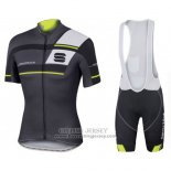 2016 Jersey Sportful Black And Green