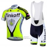 2016 Jersey Tinkoff Green And Black