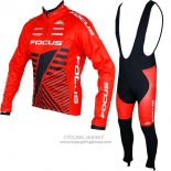 2017 Jersey Focus XC ML Long Sleeve Red