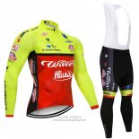 2018 Jersey Wilier Long Sleeve Green and Red