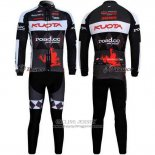 2011 Jersey Kuota Long Sleeve Black And Gray