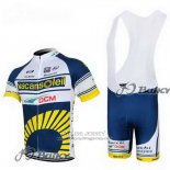 2012 Jersey Vacansoleil Yellow And Blue
