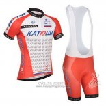 2014 Jersey Katusha White And Red