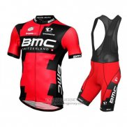 2016 Jersey BMC Black And Red
