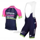 2016 Jersey Lampre Blue And Pink