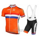 2016 Jersey Netherlands Orange And Blue