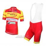 2016 Jersey Wallonie Bruxelles Yellow And Red