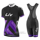 2017 Jersey Women Liv Race Day Black And Purple